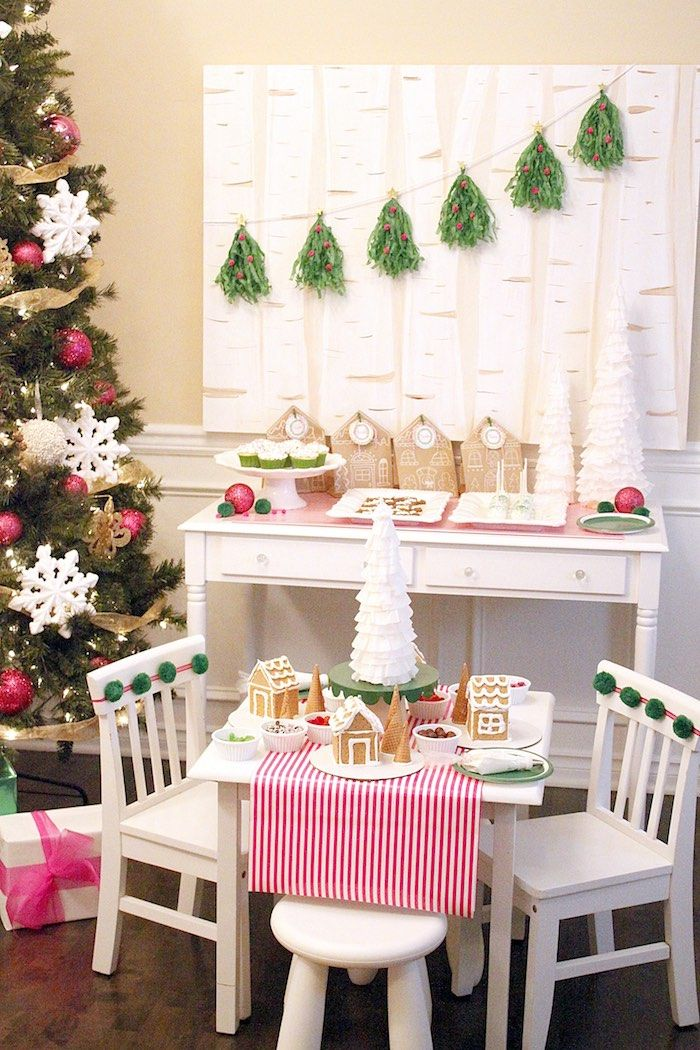 Gingerbread House Decorating Party On Karas Party Ideas