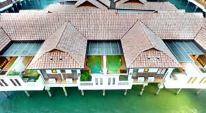 I ❤️ IT Situated 2 km from Port Dickson, the Grand Lexis Port Dickson features Balinese-inspired villas connected by spacious boardwalks.