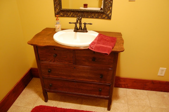 Turn A Dresser Into A Vanity Super Easy For The Home