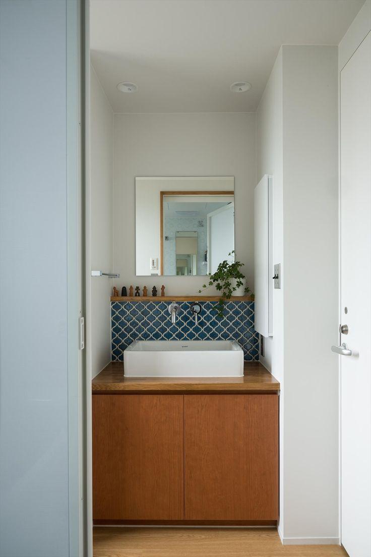 たまプラーザのリノベーション(横浜市青葉区)の部屋 洗面室