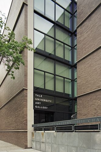Yale University Art Gallery, New Haven  by Louis Kahn in 1951-53
