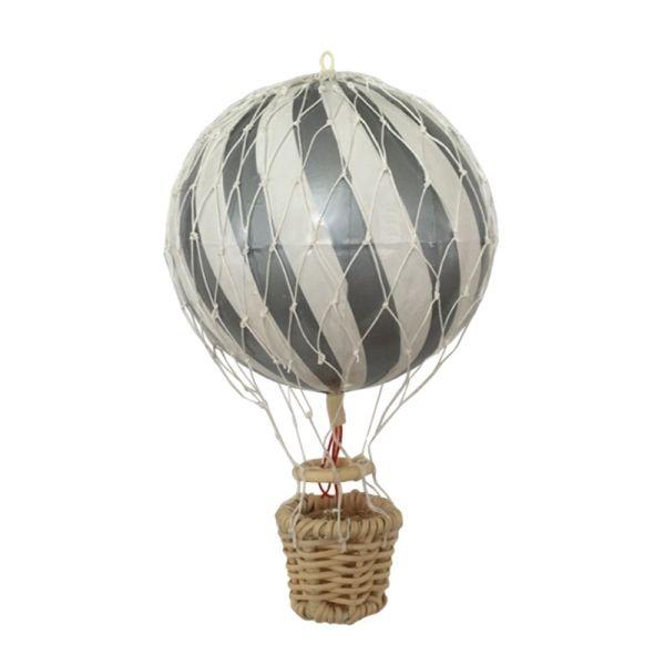 Luftballong 20 cm Silver