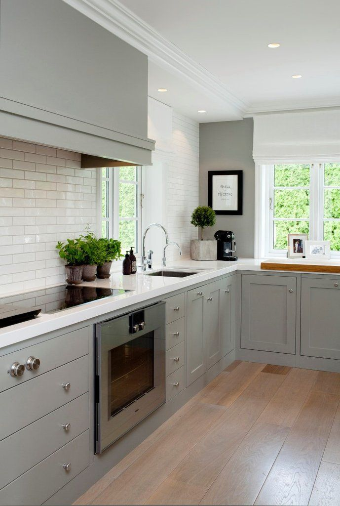 1118 best kitchens images on pinterest decorating kitchen kitchen styling and light grey on kitchen decor grey cabinets id=25581