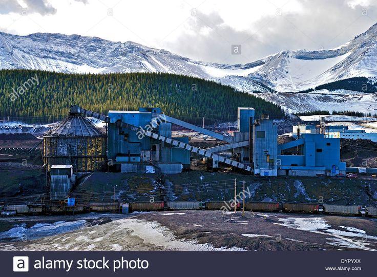 A coal processing plant up in Alaska