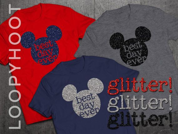 Are you counting down to your next Disney World, Disneyland or Disney cruise vacation? Be ready for the FUN with a custom-made shirt that really sums