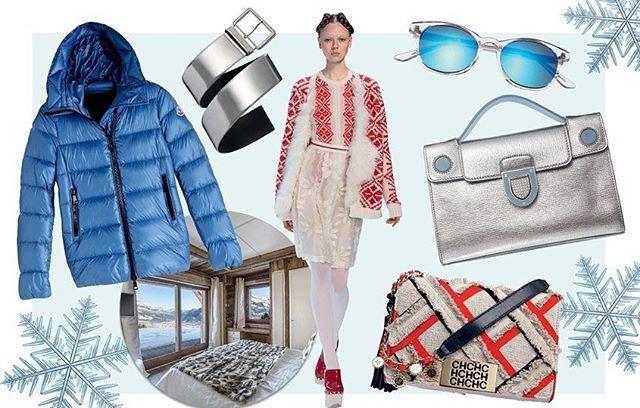 Fashionistas com viagem marcada para o hemisfério norte para curtir o frio: a temporada de esqui na neve pede looks de fundo branco com decorativismos vermelhos ou azuis e acessórios prateados com ar futurista. Vogue faz uma seleção de roupas e acessórios que são essenciais para a sua mala perfeita em vogue.globo.com #moda #neve  via VOGUE BRASIL MAGAZINE OFFICIAL INSTAGRAM - Fashion Campaigns  Haute Couture  Advertising  Editorial Photography  Magazine Cover Designs  Supermodels  Runway…