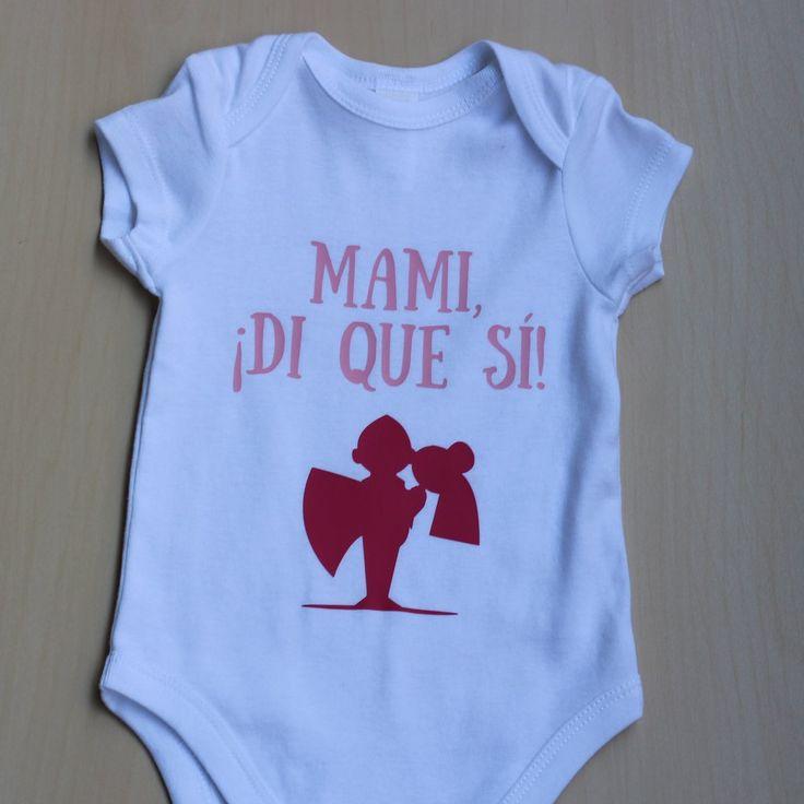 Mami, ¡di que sí! - Body para bebés temático de bodas – Naitus
