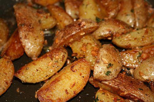 Pommes de terre sautées.                                                                                                                                                                                 Plus