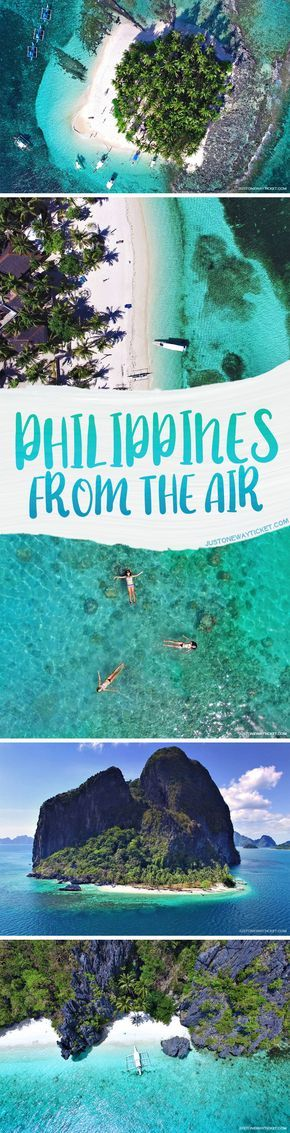 Philippines From A Bird's Eye View   These aerial photos will tickle your wanderlust, inspire you to get a drone, travel to the Philippines, and capture a few of the 7000 stunningly beautiful islands and beaches...   via @Just1WayTicket