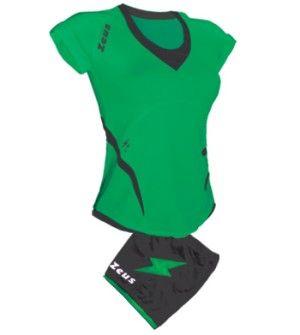 Zeus Manila Női Röplabda Mez Szett 90%-ban poliészter, és 10%-ban elasztál anyagból készült. Így masszív, légáteresztős, kényelmes és rugalmas, rövidített ujjú, prémium minőségű röplabda mez, sztreccs nadrággal. Női kézilabda csapatok számára is javasolt. - See more at: http://elony.emelkedes.hu/termek/zeus-manila-noi-roplabda-mez-szett/#sthash.SucO81Mi.dpuf