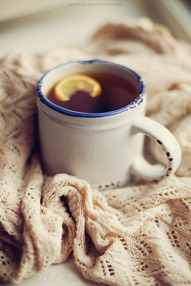 hot tea on a chilly day