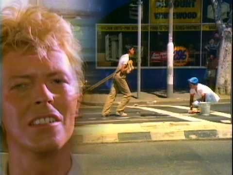 "DAVID BOWIE / LET'S DANCE (1983) -- Check out the ""I ♥♥♥ the 80s!!"" YouTube Playlist --> http://www.youtube.com/playlist?list=PLBADA73C441065BD6 #1980s #80s"