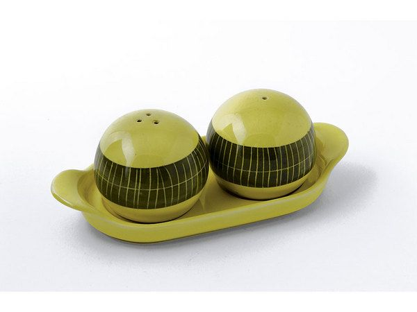 pair of 1960s Secla salt and pepper shakers on a tray,  - Miller's Antiques & Collectables Price Guide