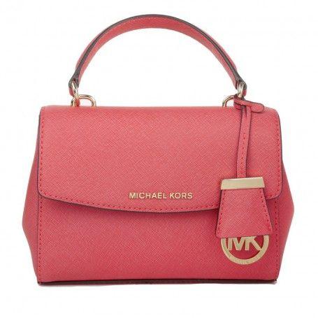 880568fb7e661 ... Michael Kors Tasche – Ava XS Crossbody Coral Reef – in rot –  Umhängetasche für Damen Handtasche ...