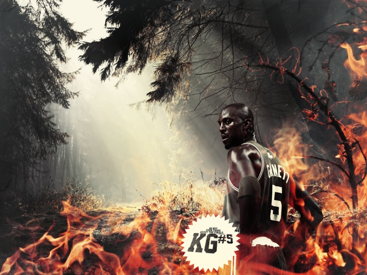 Kevin Garnett Legendary basketball wallpaper in HD. Kevin Garnett was the 5th overall pick in the 1995 NBA Draft.