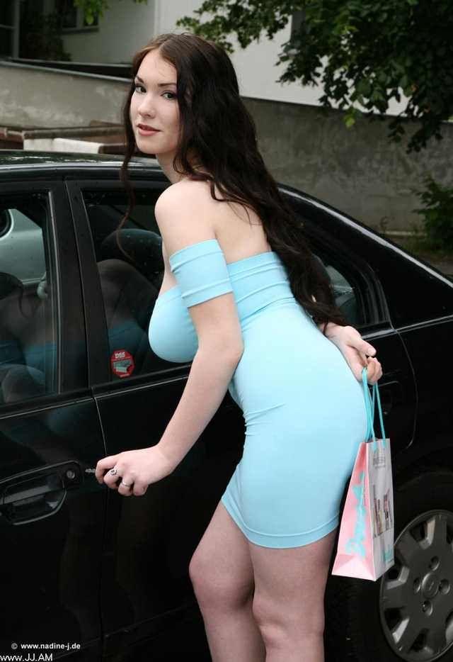 Anna Song Blue Dress  Modelos Y Fotos-9811