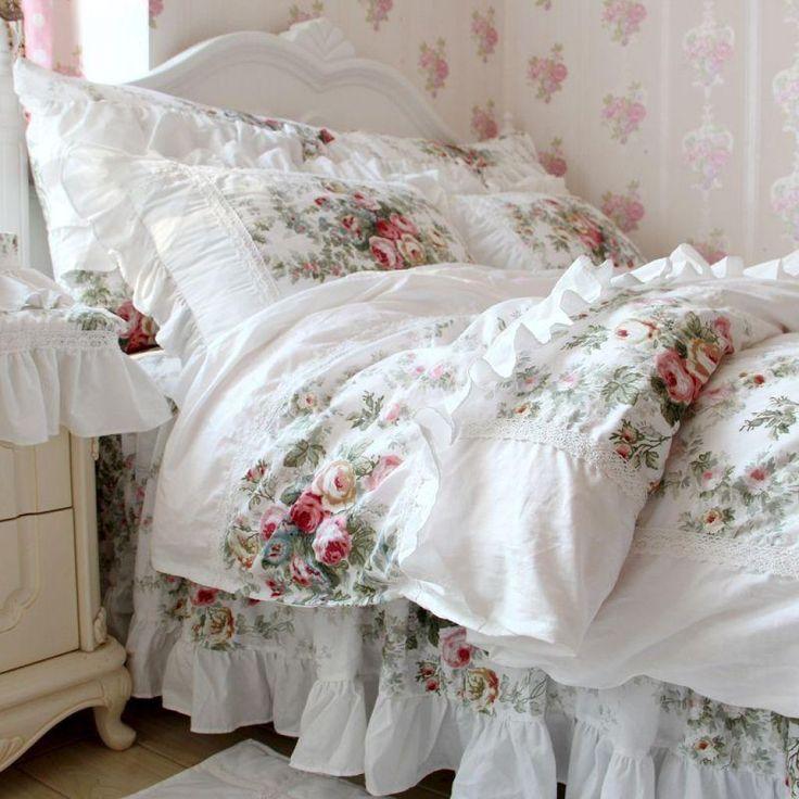 Bedroom Shabby Chic Bedding  -   #beddingdesignsideas #beddingshabbychic #shabbychicbeddingpictures #shabbychicbeddingsets #shabbychicbedroombedding