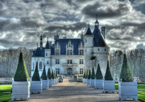"""Chateau de Chenonceau Chenonceaux, France """"Impressive from the outside, enchanting from the inside…. So beautiful it is hard to leave."""" 12 fairy-tale places that are actually real"""