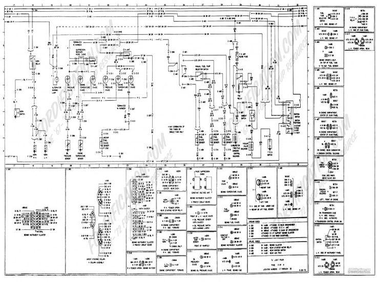 1973-1979 Ford Truck Wiring Diagrams & Schematics
