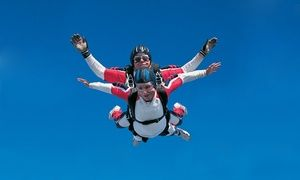 Groupon - $ 109.99 for One Tandem Skydive from Skydiving Land ($210 Value)  in Plant City. Groupon deal price: $109.99