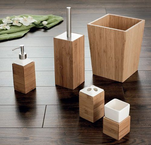 Ridder Bamboo Bathroom Accessories (Tumbler only - 5.1 X ...