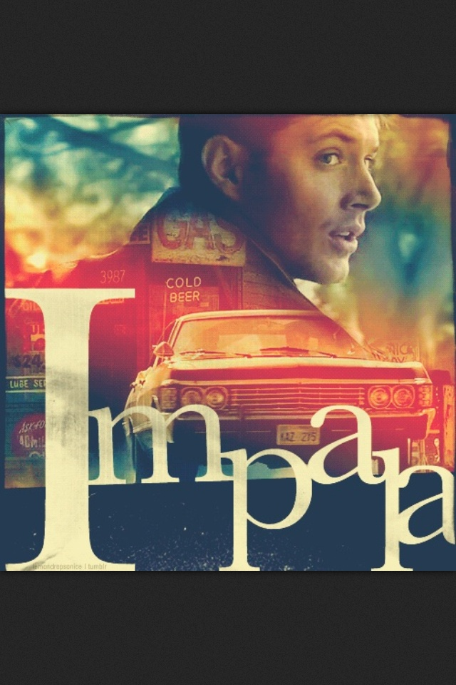Dean winchesters impala: best car in the world. I always loved how the car was like a character in the show and its like the boys it may die every now and then but Dean always fixes it up and brings it back.