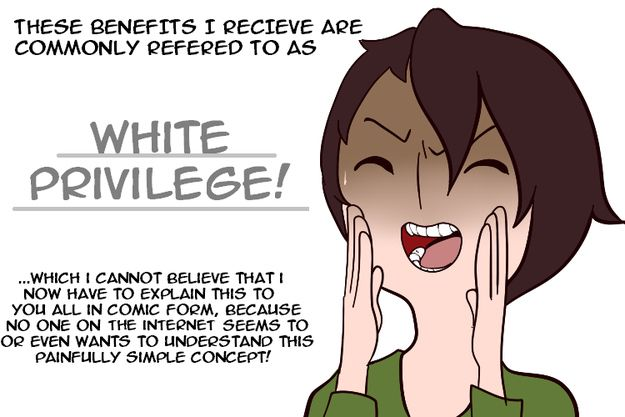 This Comic Perfectly Explains What White Privilege Is