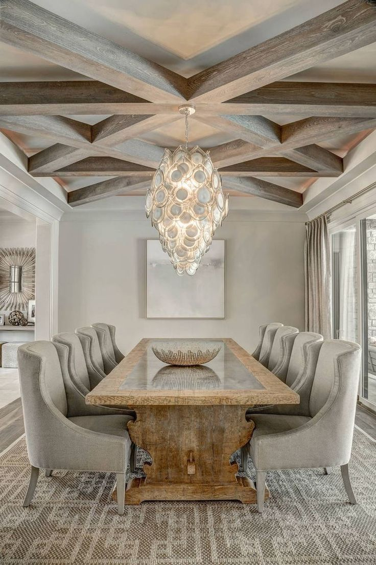 Pin On Moms House Beautiful dining room ceilings