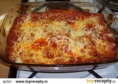 Lasagne recept - TopRecepty.cz