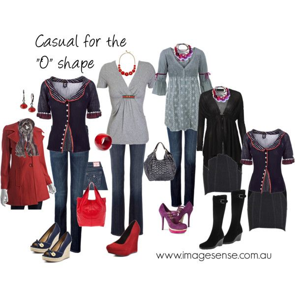 """Casual for the """"O"""" (Apple) shape"""