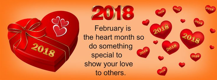 February is the heart month so do something special to show your love to others.