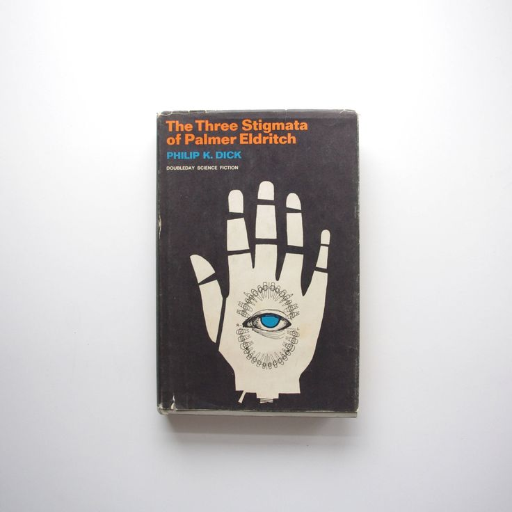 The Three Stigmata Of Palmer Eldritch by Philip K Dick - 1965 Doubleday Science Fiction Book Club Edition by ThisCharmingManCave on Etsy  https://www.etsy.com/listing/522272854/the-three-stigmata-of-palmer-eldritch-by  #PhilipKDick #ThreeStigmataOfPalmerEldritch