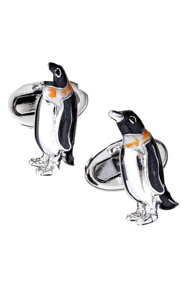 Jan Leslie 'Penguin' Cuff Links available at #Nordstrom