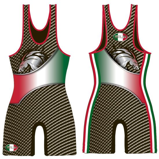 BRUTE Italia Sublimated Wrestling Singlet