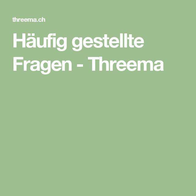 Häufig gestellte Fragen - Threema