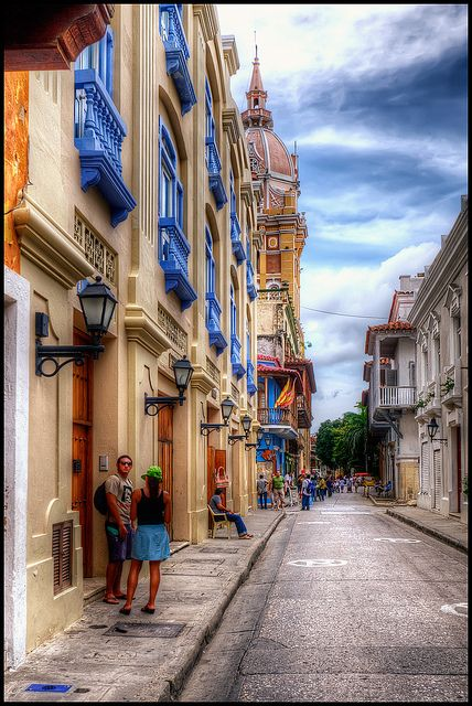 Cartagena, Colombia by szeke, via Flickr