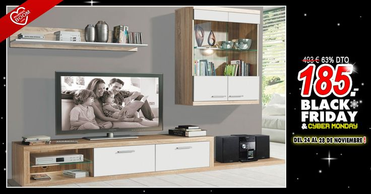 1000 images about black friday cyber monday ofertas especiales muebles boom on pinterest. Black Bedroom Furniture Sets. Home Design Ideas