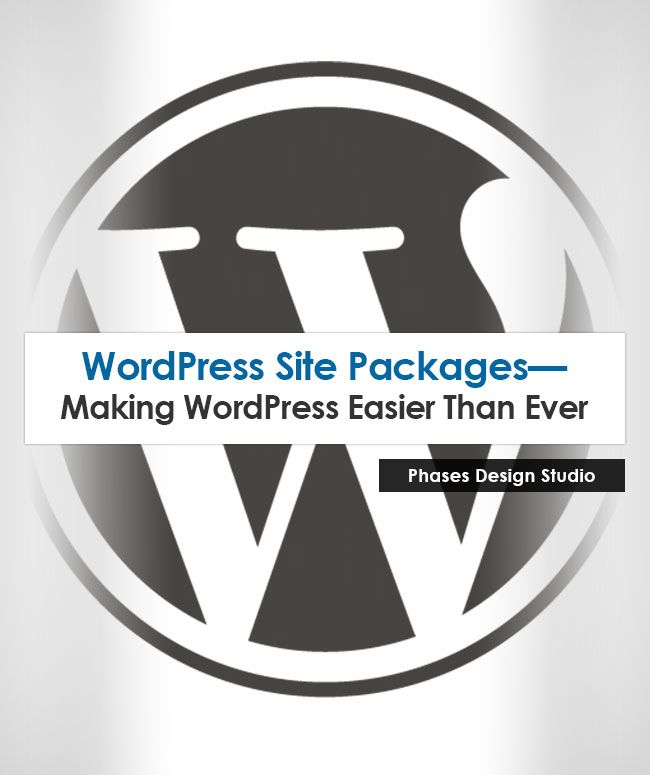 Our new #WordPress Foundation Package! Professional site design and development with WordPress means an affordable, efficient, manageable, and brand focused site for your business.