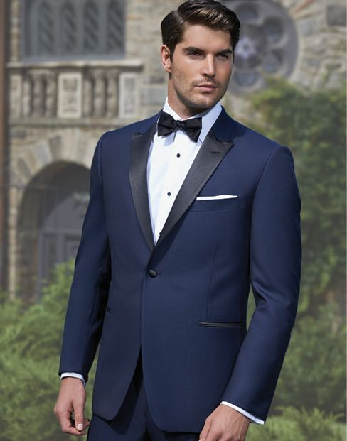 Collins Formal Wear - Navy Black Prestige by Ike Behar  http://www.collinsformalwear.com/catalogue.html