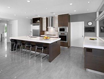 SD House - modern - kitchen - edmonton - thirdstone inc. [^]