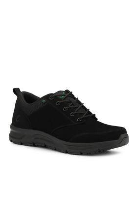 Emeril Lagasse Footwear Men's Quarter Nubuck Sneaker - Wide Width Available - Black Wide Width - 9.5W