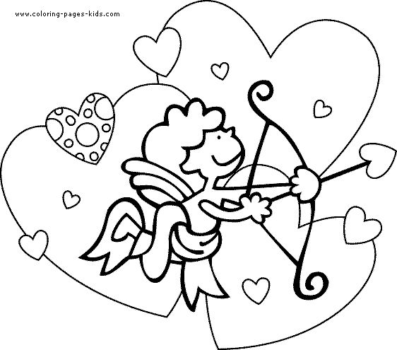 valentine coloring pages in spanish-#6