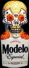 **MODELO** Especial-Day of the Dead-Draft Beer Keg Tap Handle-Pub Tapper-Lot 265