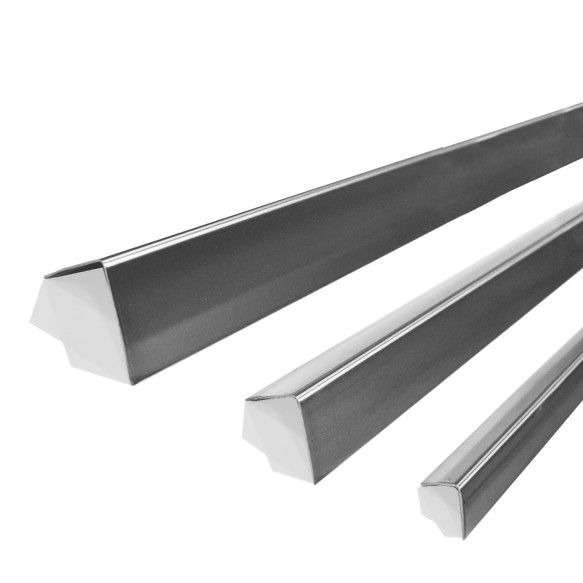 Find Secure high traffic areas with our thickest of Stainless steel to protect your corners. For more - http://www.steelguards.ca/4x4-48-18ga-stainless-corner-guard