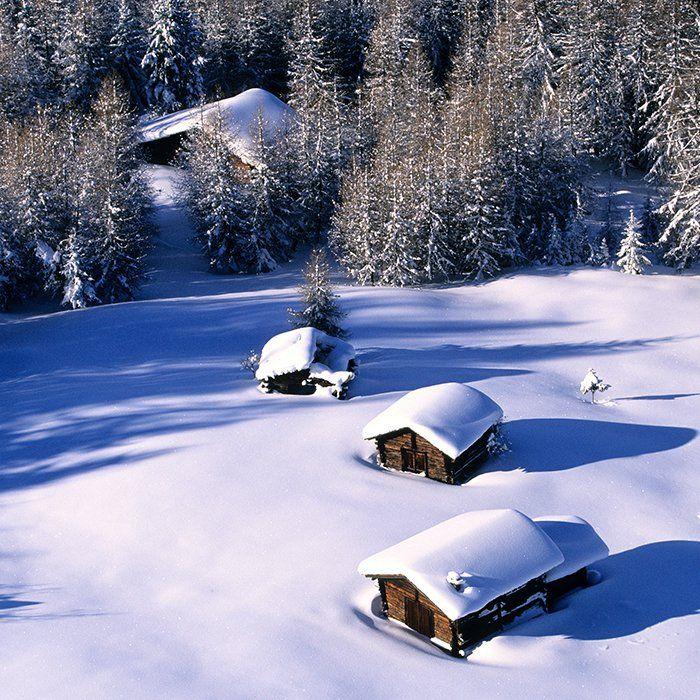 La Plagne, sous le soleil la neige
