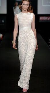 Tina's handicraft : wedding crochet dress
