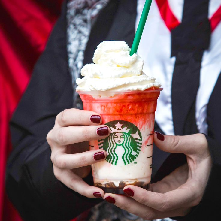 Starbucks unveiled its new, limited-edition 2015 Halloween drink — the Frappula Frappuccino, a blended white chocolate mocha beverage with a mocha drizzle base, blood-like raspberry syrup, and whipped cream.
