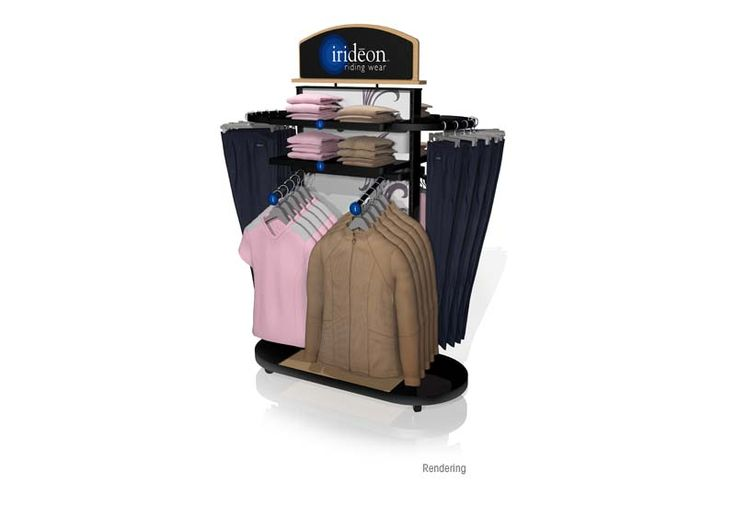 Irideon Floorstand Display