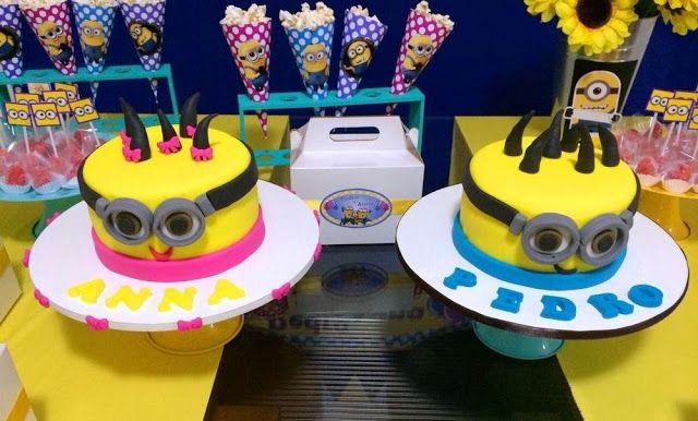 Minions Temalı Parti Fikirleri - Neşeli Süs Evim - Ücretsiz Doğum Günü Süsleri