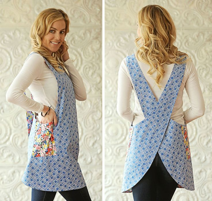 A Beautiful Vintage Made Modern Apron + A Discount Offer